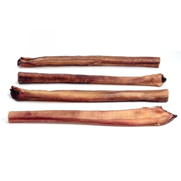 bully stick label 12 inch